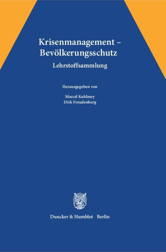 Cover Krisenmanagement – Bevölkerungsschutz