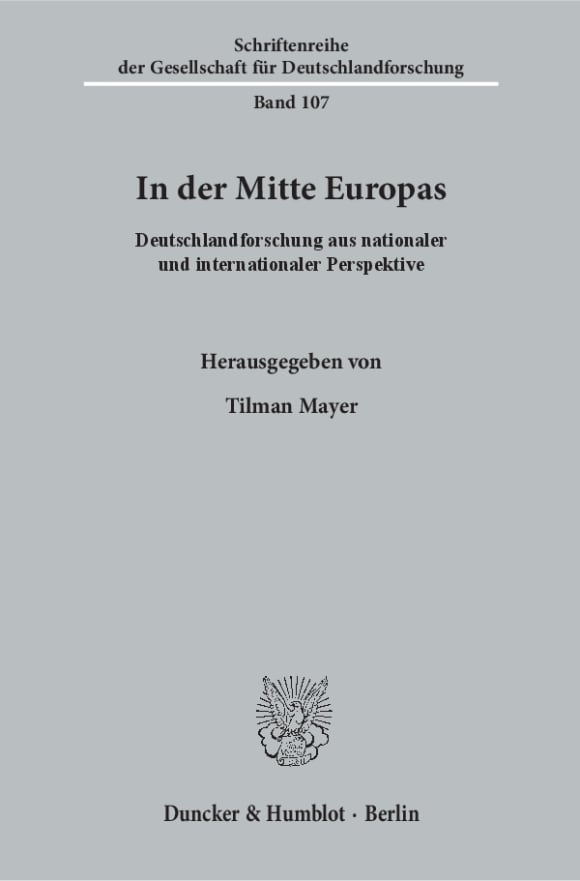 Cover In der Mitte Europas