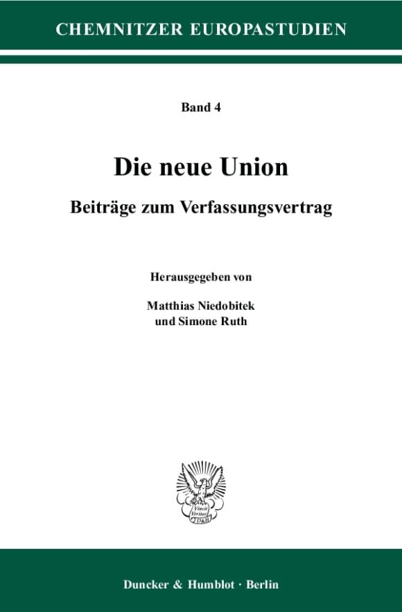 Cover Die neue Union