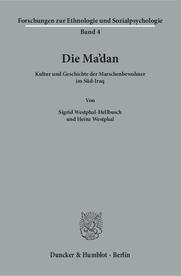 Cover Die Ma'dan