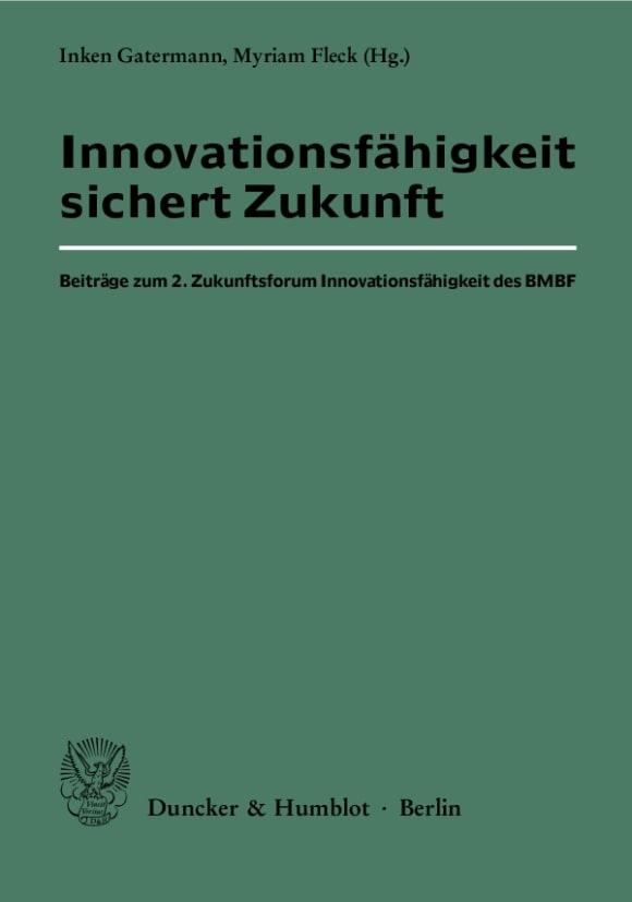 Cover Innovationsfähigkeit sichert Zukunft