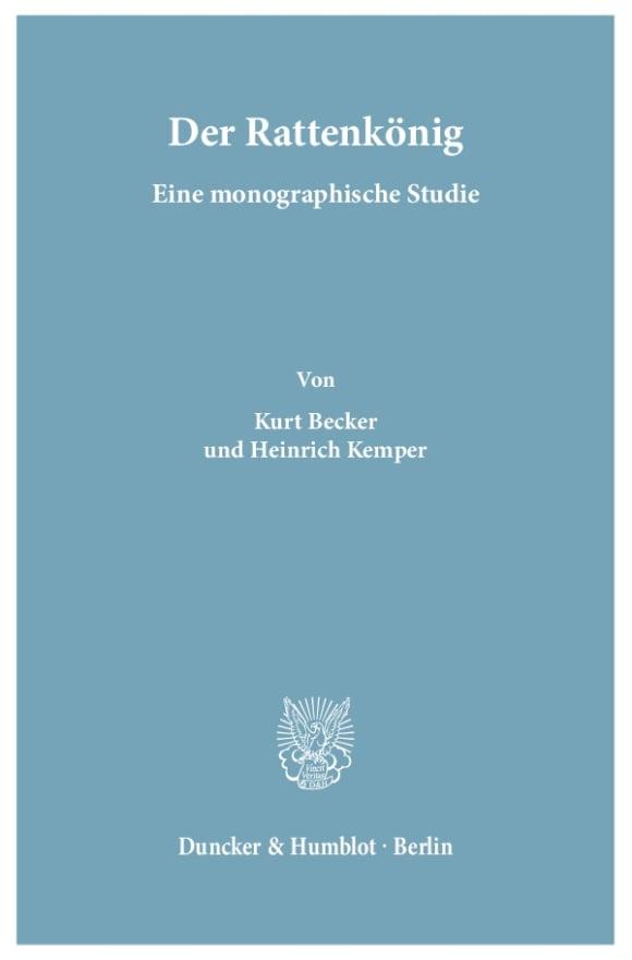 Cover Der Rattenkönig