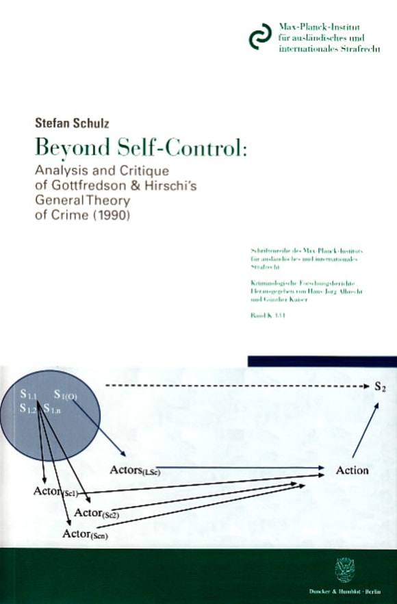 Cover Beyond Self-Control: Analysis and Critique of Gottfredson & Hirschi's General Theory of Crime (1990)