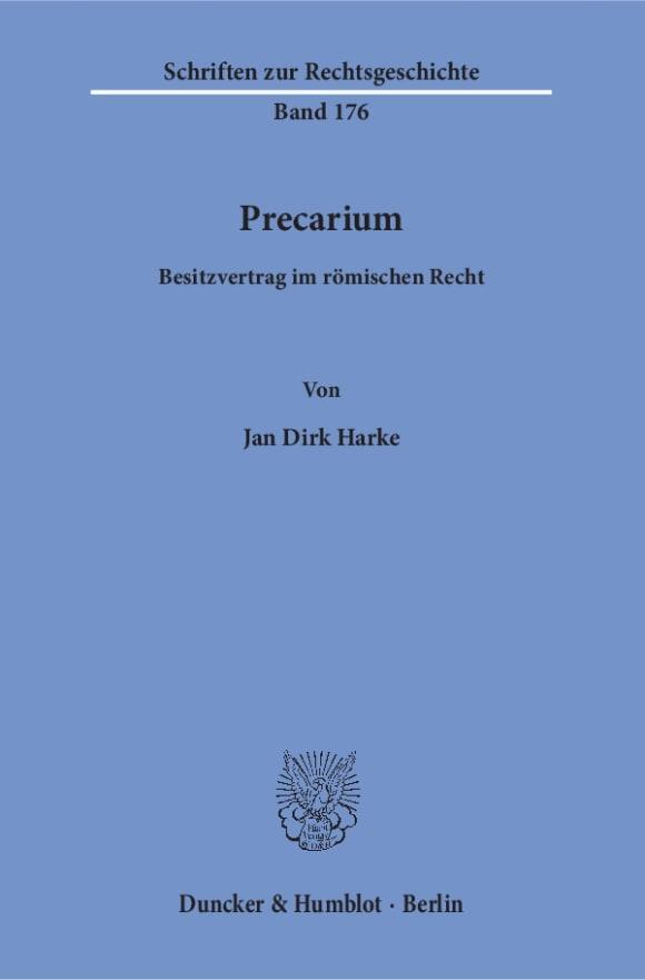 Cover Precarium