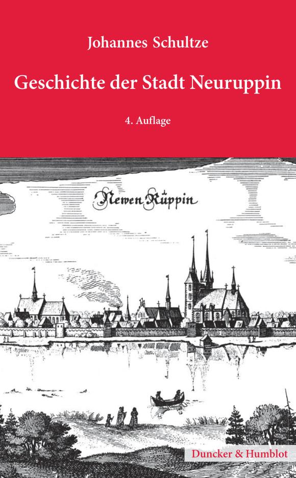 Cover Geschichte der Stadt Neuruppin
