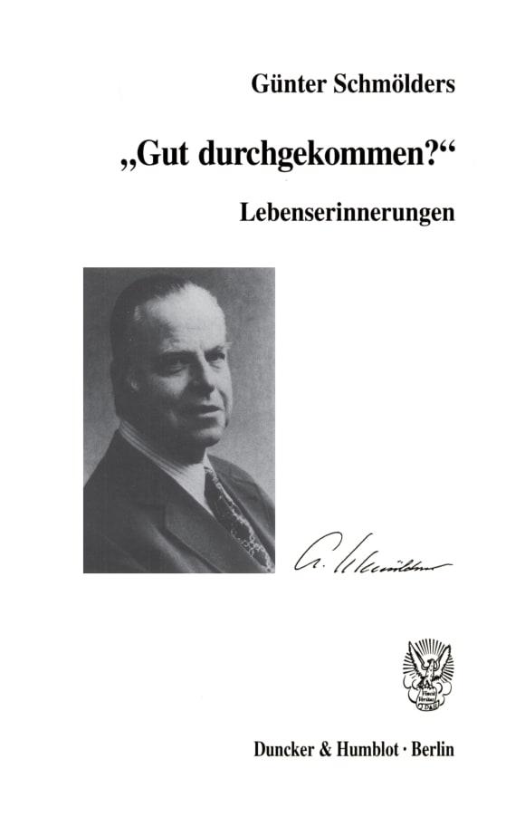 Cover Lebenserinnerungen