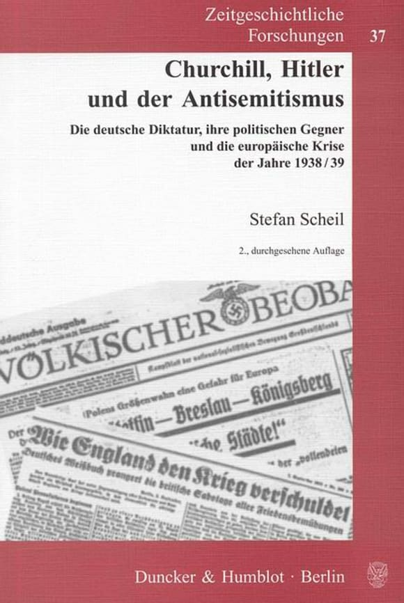 Cover Churchill, Hitler und der Antisemitismus