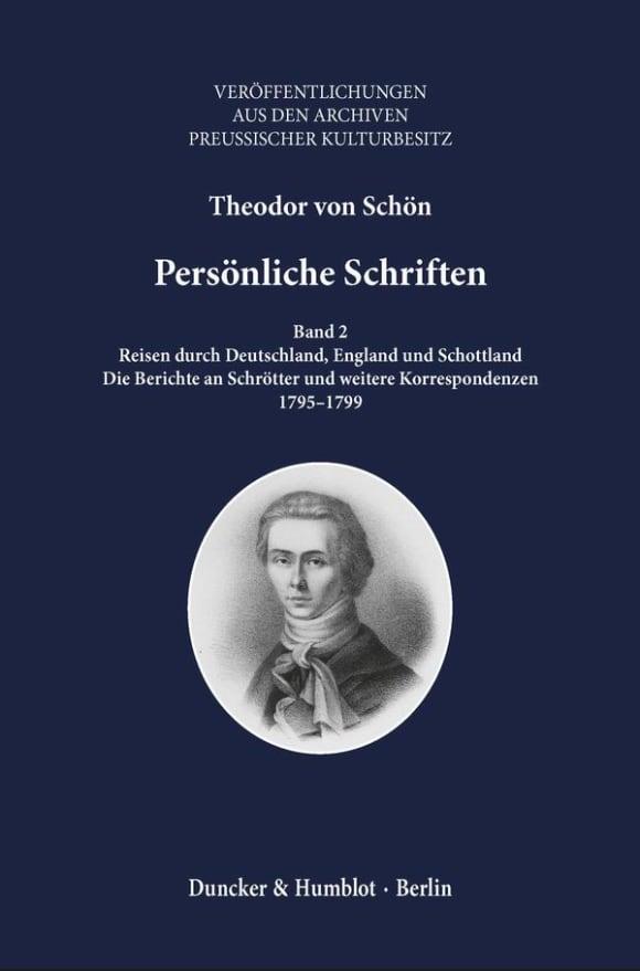 Cover Persönliche Schriften