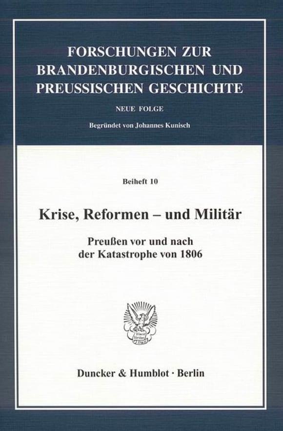 Cover Krise, Reformen - und Militär