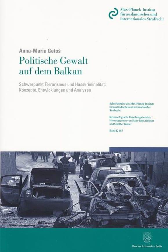 Cover Politische Gewalt auf dem Balkan