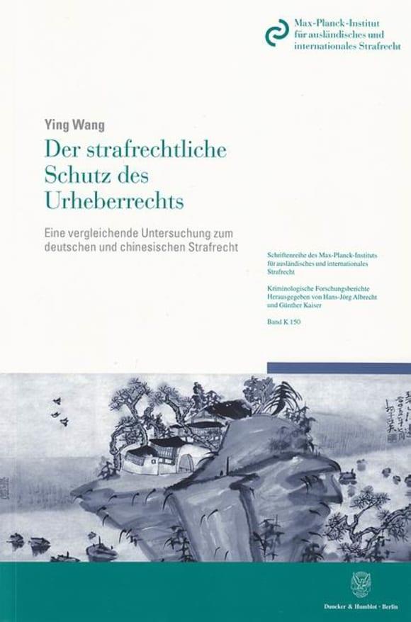 Cover Der strafrechtliche Schutz des Urheberrechts
