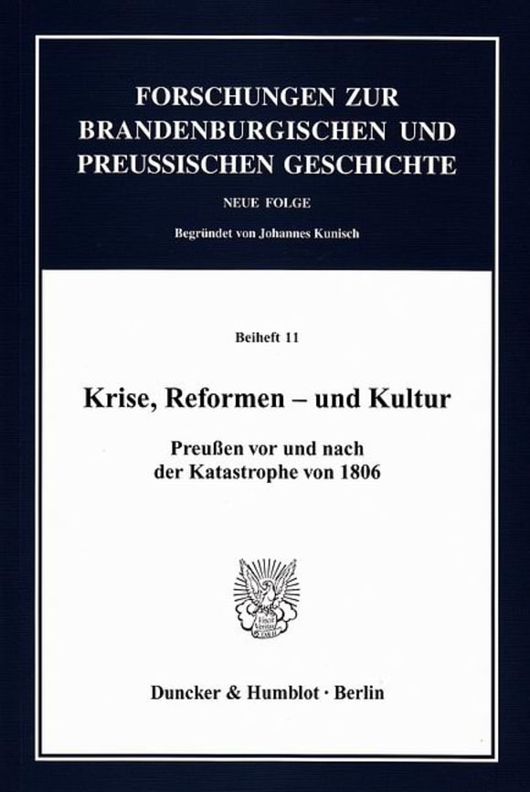 Cover Krise, Reformen – und Kultur