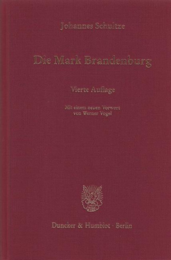 Cover Die Mark Brandenburg