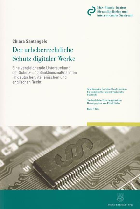 Cover Der urheberrechtliche Schutz digitaler Werke