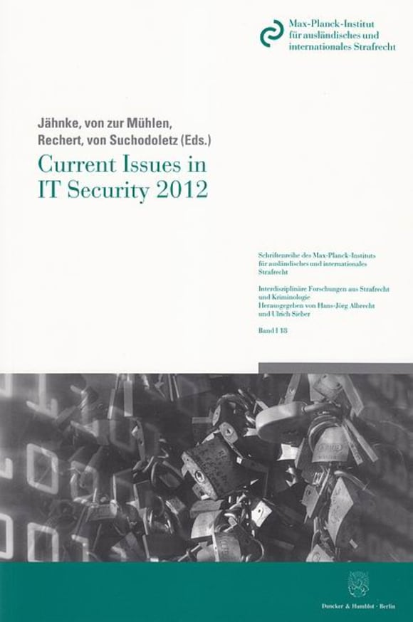Cover Current Issues in IT Security 2012
