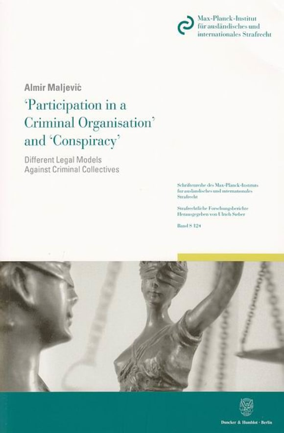 Cover 'Participation in a Criminal Organisation' and 'Conspiracy'