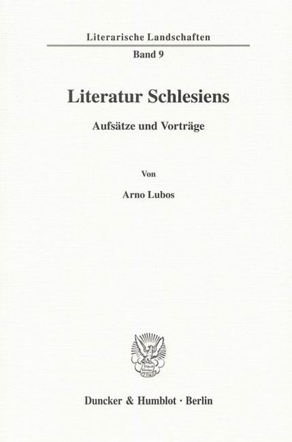 Cover Literatur Schlesiens