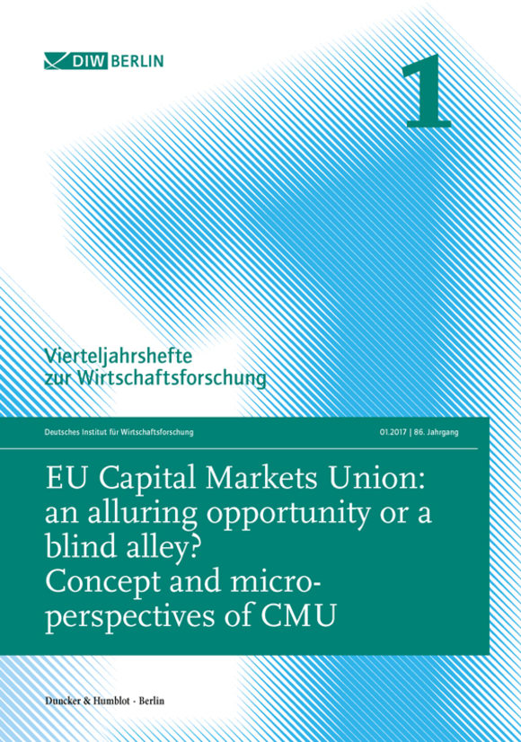 Cover EU Capital Markets Union: an alluring opportunity or a blind alley? (VJH 1/2017)