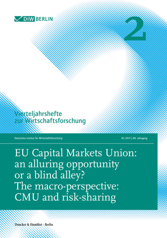 Cover EU Capital Markets Union: an alluring opportunity or a blind alley? (VJH 2/2017)