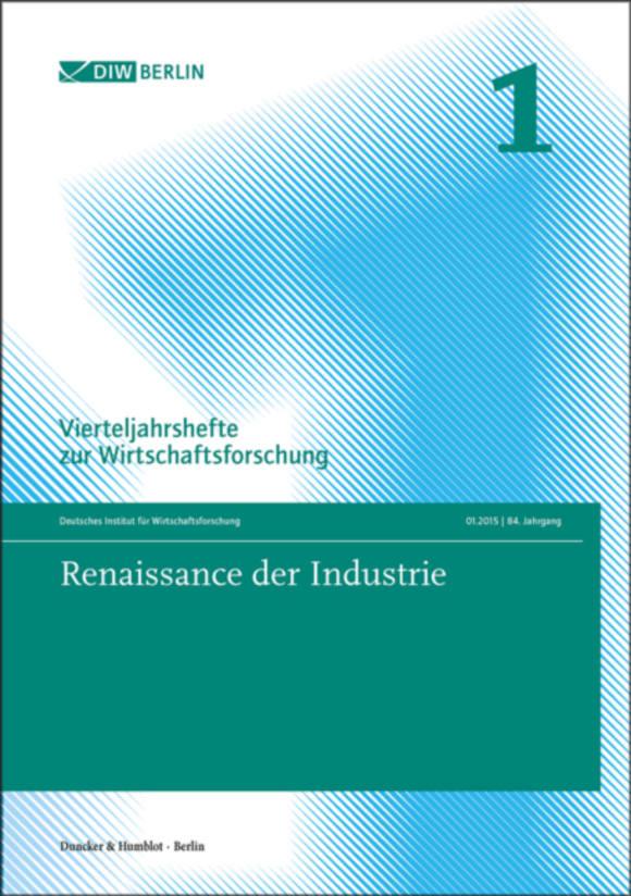 Cover Renaissance der Industrie (VJH 1/2015)