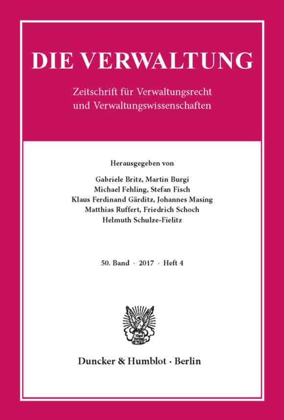 Cover VERW 4/2017