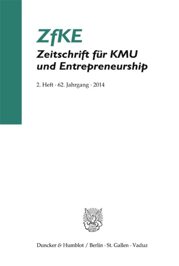 Cover ZfKE 2/2014