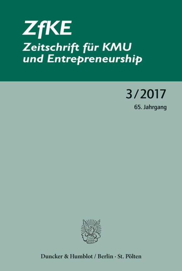 Cover ZfKE 3/2017