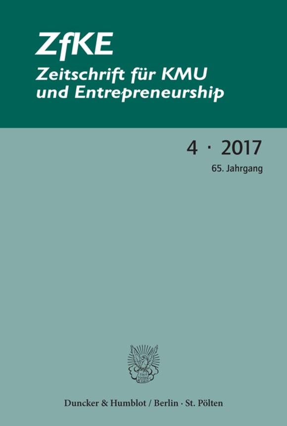 Cover ZfKE 4/2017