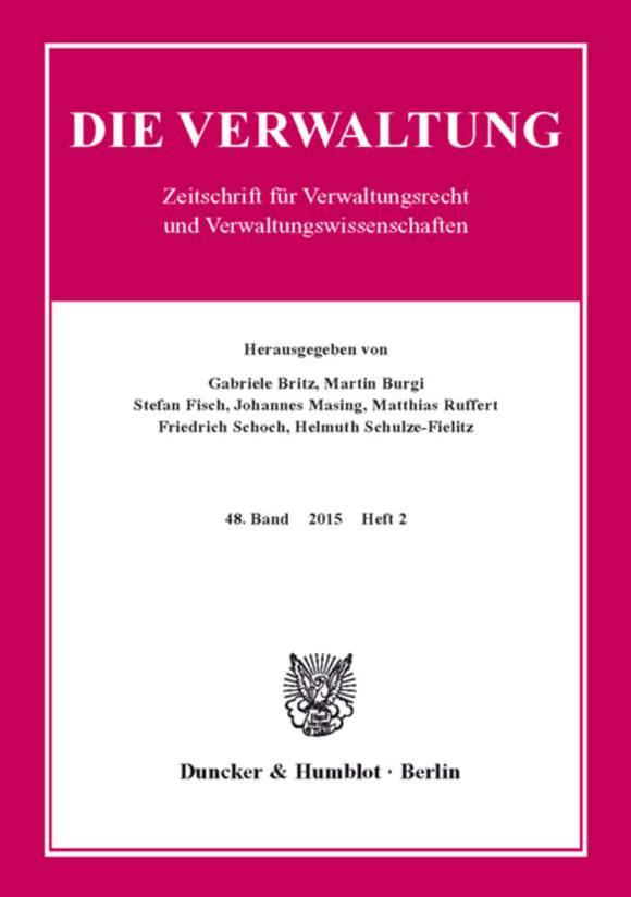 Cover VERW 2/2015