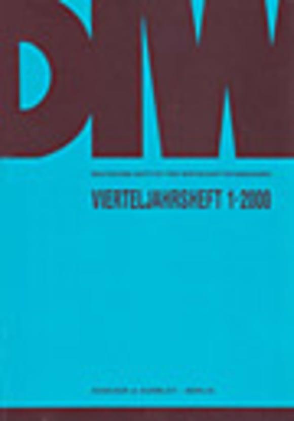 Cover VJH 1/2000