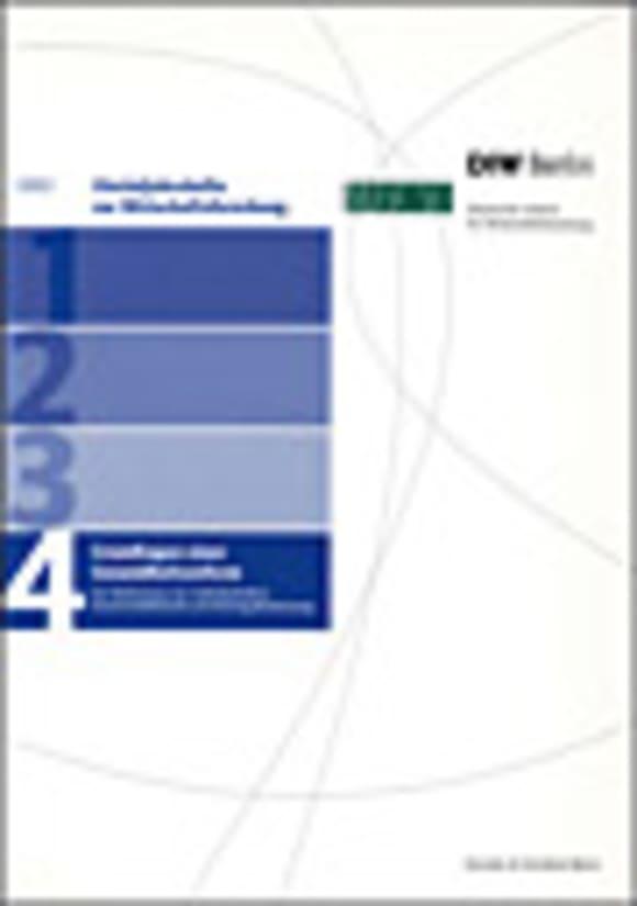 Cover Grundlagen einer Gesundheitsreform. Zur Bedeutung von Selbstbehalten, Kassenwettbewerb und Beitragsbemessung (VJH 4/2002)