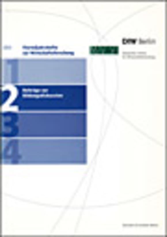 Cover Beiträge zur Bildungsdiskussion (VJH 2/2003)
