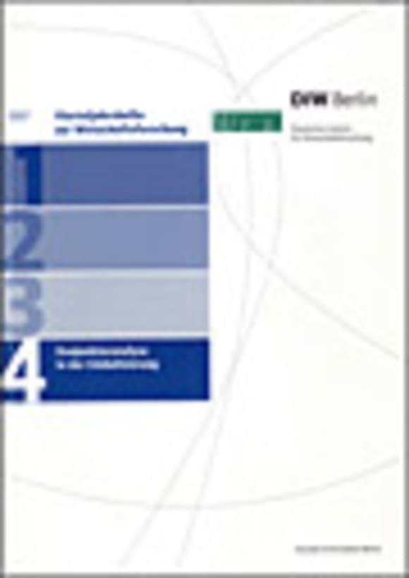 Cover Konjunkturanalyse in der Globalisierung (VJH 4/2007)