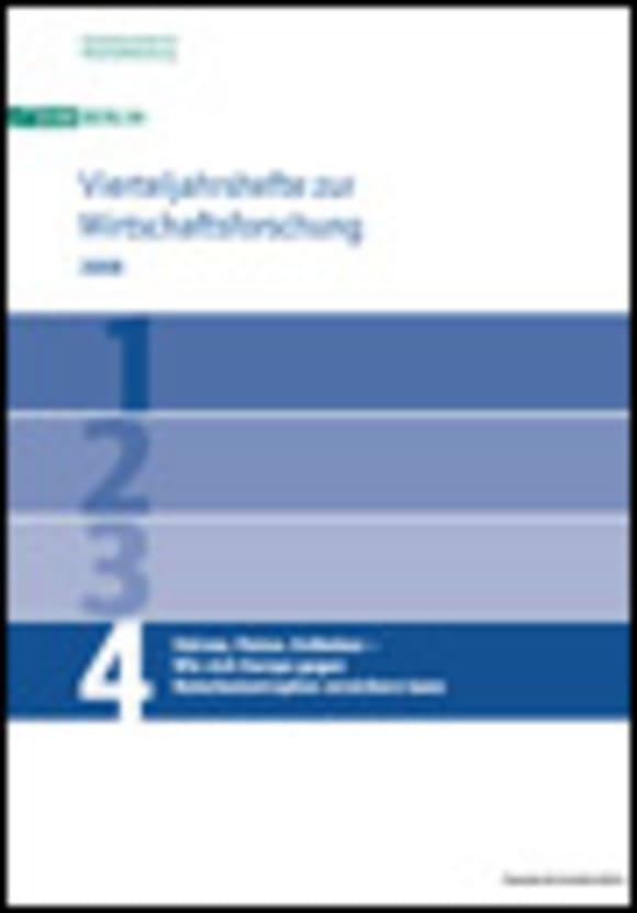 Cover Stürme, Fluten, Erdbeben – Wie sich Europa gegen Naturkatastrophen versichern kann (VJH 4/2008)