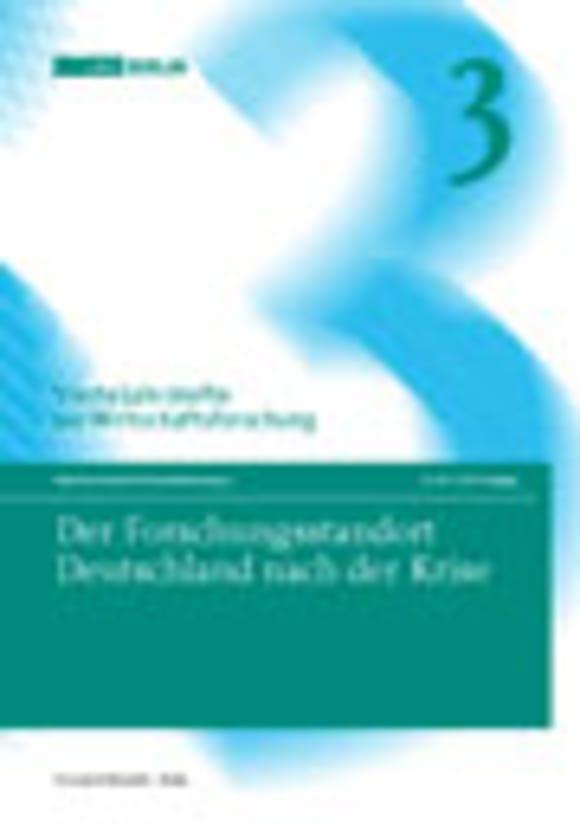 Cover Der Forschungsstandort Deutschland nach der Krise (VJH 3/2011)