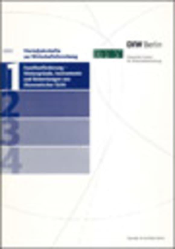 Cover Familienförderung – Hintergründe, Instrumente und Bewertungen aus ökonomischer Sicht (VJH 1/2002)