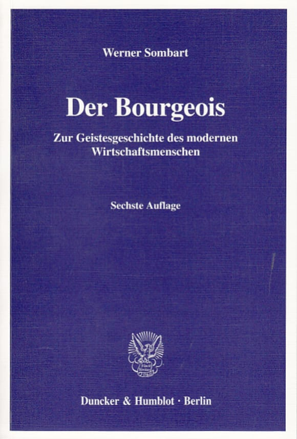 Cover Der Bourgeois