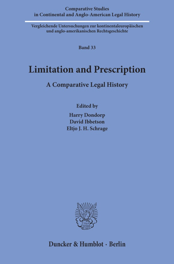 Cover Limitation and Prescription