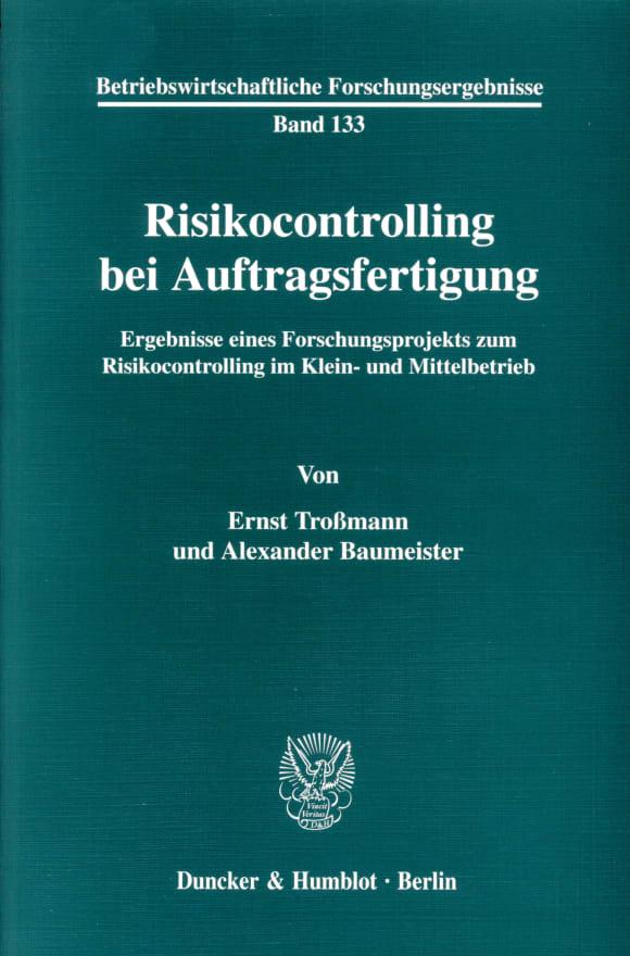 Cover Risikocontrolling bei Auftragsfertigung