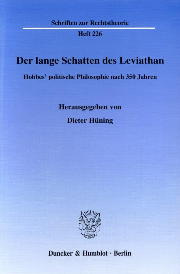 Cover Der lange Schatten des Leviathan