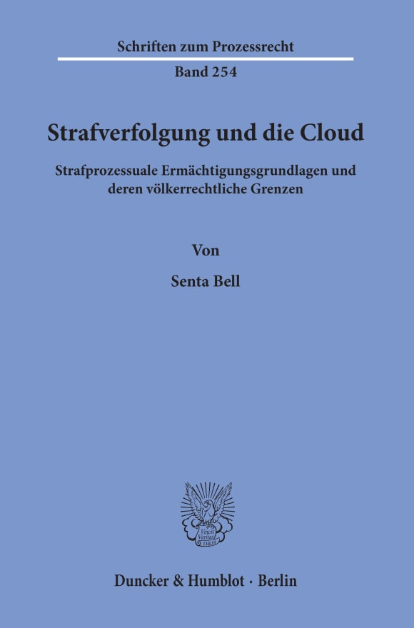 Cover Strafverfolgung und die Cloud