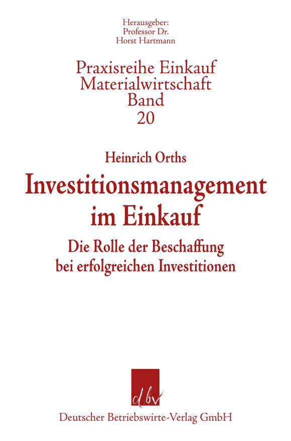 Cover Investitionsmanagement im Einkauf