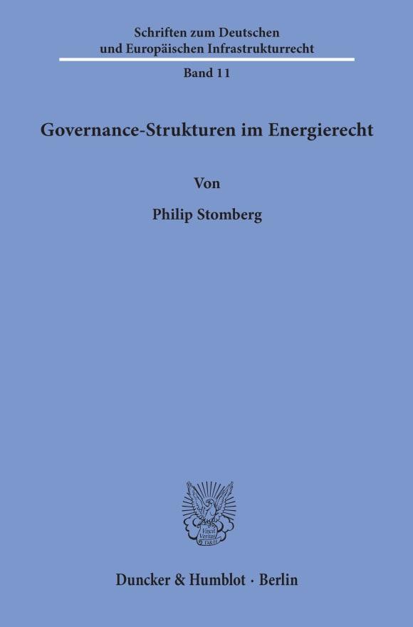 Cover Governance-Strukturen im Energierecht