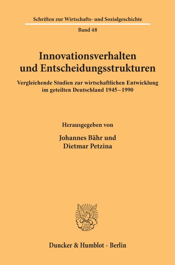 Cover Innovationsverhalten und Entscheidungsstrukturen