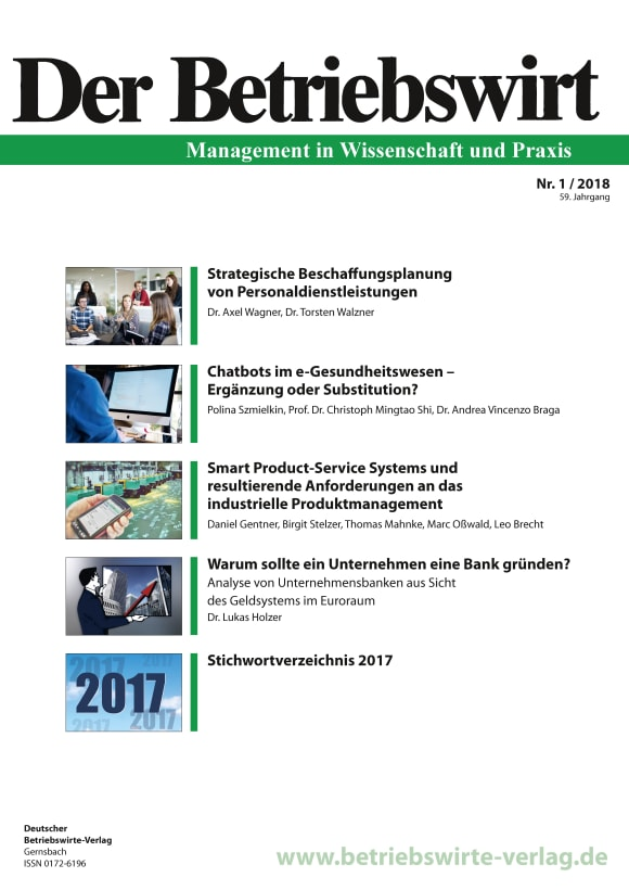 Cover DBW 1/2018