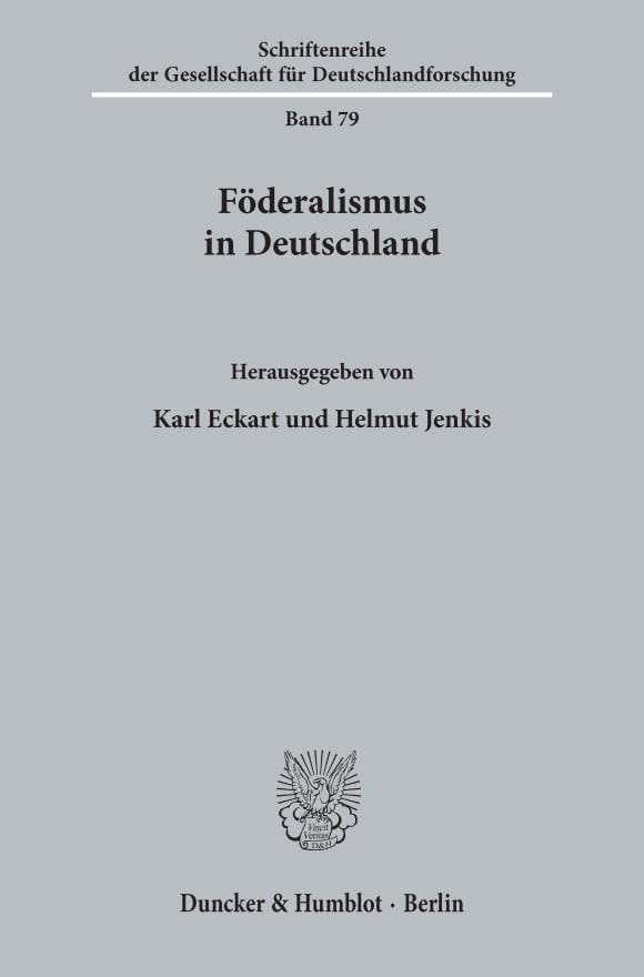 Cover Föderalismus in Deutschland