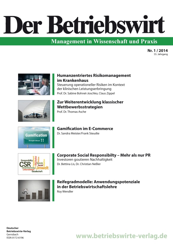 Cover DBW 1/2014