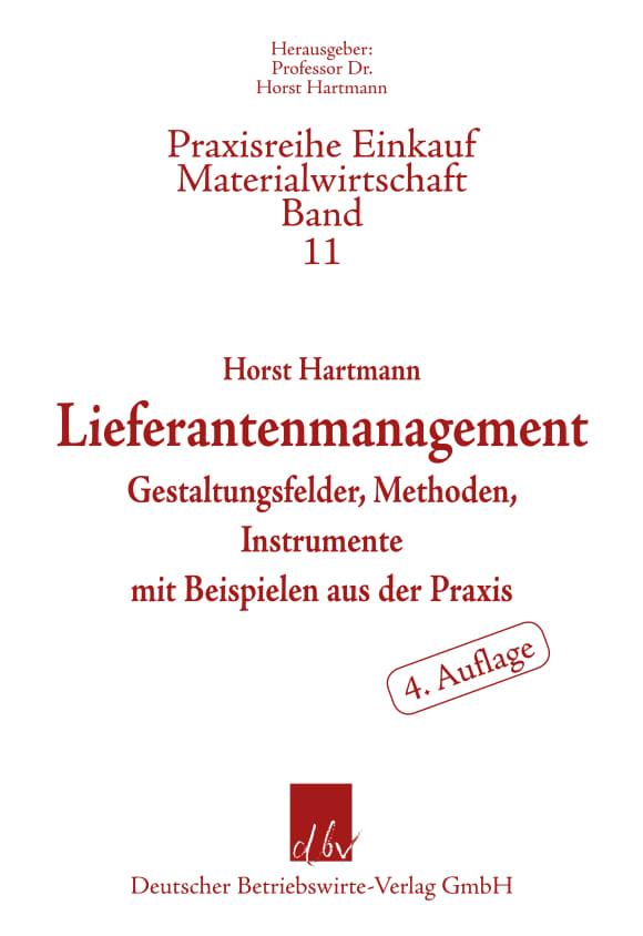 Cover Lieferantenmanagement
