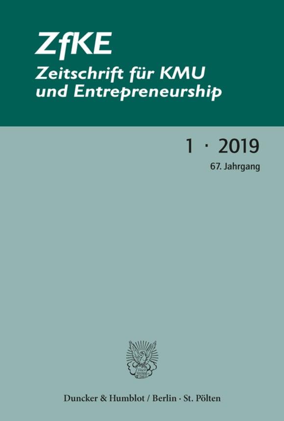 Cover ZfKE 1/2019