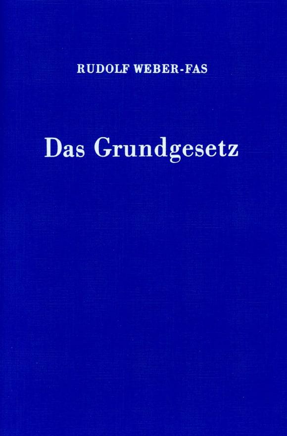 Cover Das Grundgesetz